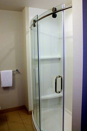 curved shower installation for in rancho cucamonga